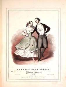 Polka sheet music cover.