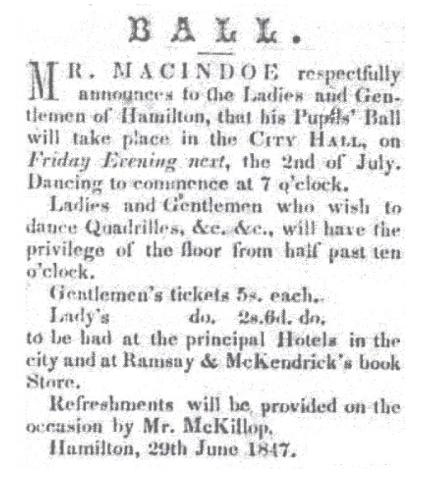 Hamilton Spectator - June 30, 1847