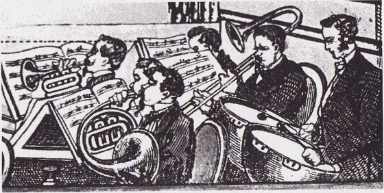 Quadrille Pit Band circa 1860